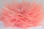 """Заколка для волос """"Цветок персиковый лотус"""""""