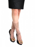 Носочки леопардовые