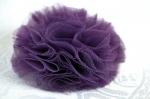 """Заколка для волос """"Цветок сливовый шарик"""""""