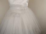 Детское белое платье принцессы без подсветки