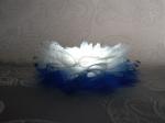 """Заколка для волос """"Цветок белый персидский лотус"""""""