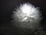 """Заколка для волос """"Цветок корона айвори"""""""