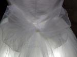 Светящееся детское белое платье принцессы
